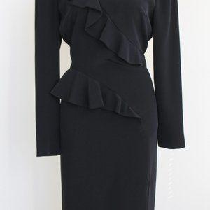 Modest Long-Sleeve Designer Dress